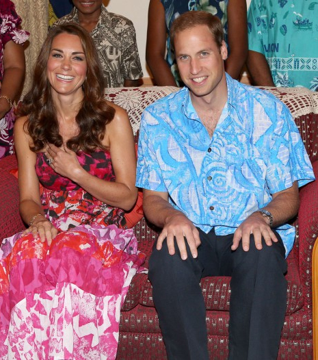 Kate e Príncipe William